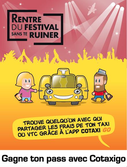 CotaxiGO vous invite au festival Terres du son